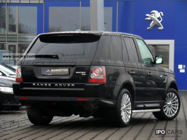 2010 land rover range rover sport 3 0 tdv6 se navigation xenon car photo and specs. Black Bedroom Furniture Sets. Home Design Ideas