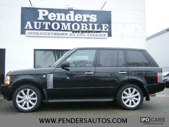 2010 Land Rover  RANGE ROVER SUPERCHARGED V8 VOLAUSSTATUNG Off-road Vehicle/Pickup Truck Used vehicle photo