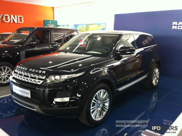 2011 Land Rover  2.2 Dynamic 5dr R.Evoque range SD4 March 2012! Off-road Vehicle/Pickup Truck New vehicle photo