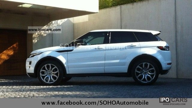 2012 Land Rover  Evoque TD4 Dynamic IMMEDIATELY EXPORT 44 900 Off-road Vehicle/Pickup Truck Used vehicle photo