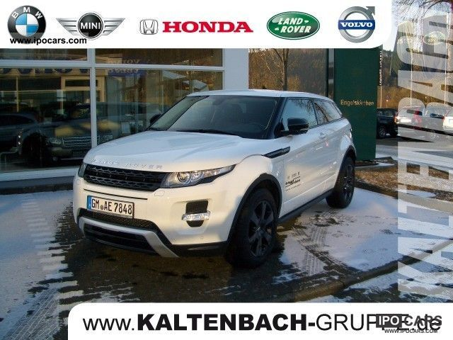 2011 Land Rover  Evoque Coupe SD4 DYNAMIC NAVI LEATHER, AIR, XENON, Off-road Vehicle/Pickup Truck Demonstration Vehicle photo