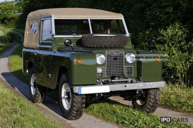 Land Rover  88 Hard Top Series 2 1965 Vintage, Classic and Old Cars photo
