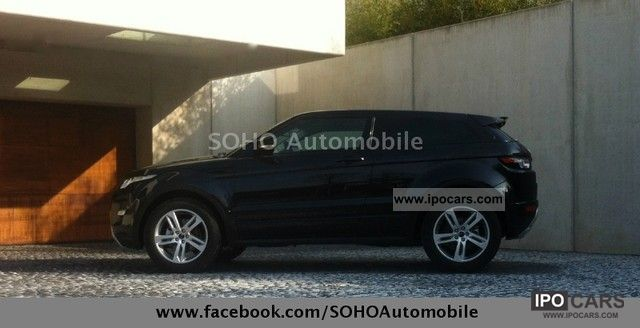 2012 Land Rover  Evoque SD4Aut. Dynamic IMMEDIATELY EXPORT 46 000 -10% Off-road Vehicle/Pickup Truck Pre-Registration photo