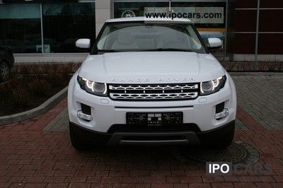 2012 Land Rover  Evoque TD4 Aut. BEIGE LEATHER Prestige / PAN Off-road Vehicle/Pickup Truck Used vehicle photo