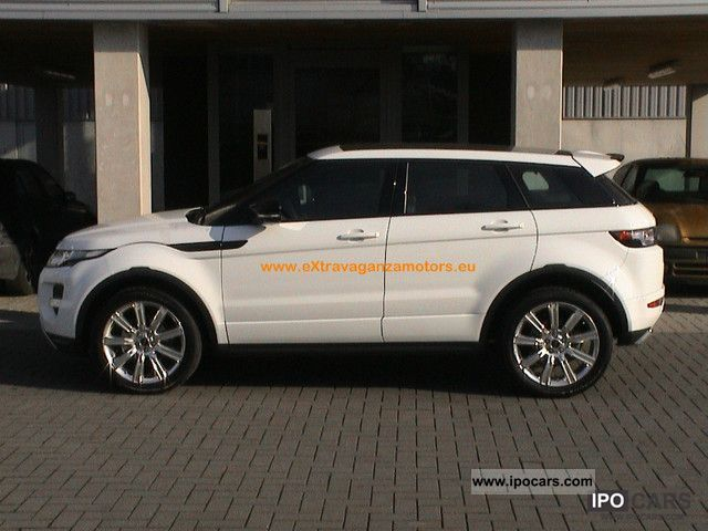 2011 Land Rover  RR Evoque TD4 Dynamic Aut-5T & NEW FROM WAREHOUSE!! Off-road Vehicle/Pickup Truck New vehicle photo