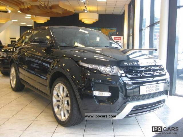 2012 Land Rover  Evoque 2.2 SD4 4wd Dynamic Off-road Vehicle/Pickup Truck Demonstration Vehicle photo