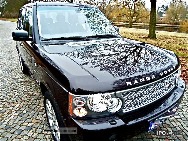 2009 Land Rover  Range Rover V8 Supercharged with TV and DVD, etc. Off-road Vehicle/Pickup Truck Used vehicle photo