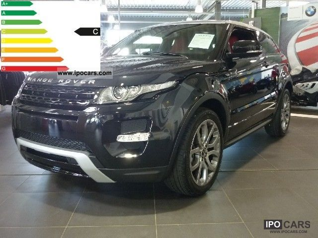 2011 Land Rover  SD4 Evoque Coupe Aut. Limousine Used vehicle photo