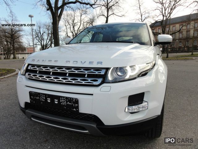2011 Land Rover  Evoque SD4 Aut. Prestige/Panorama/NAVI/20Zoll Off-road Vehicle/Pickup Truck New vehicle photo