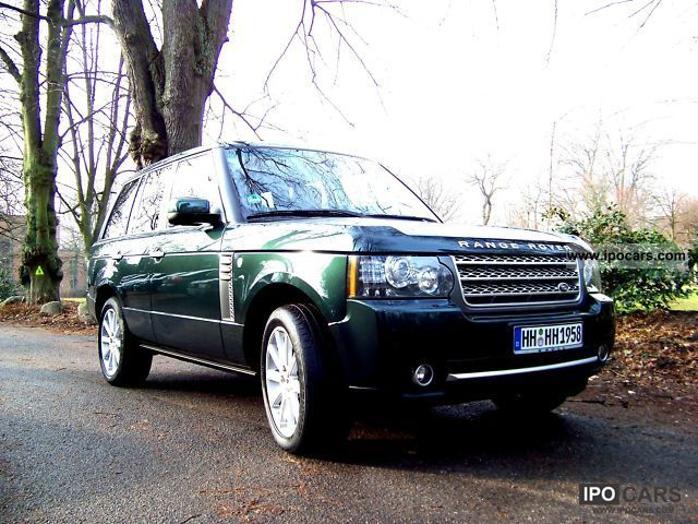 2009 Land Rover  Range Rover V8 Supercharged green / beige Off-road Vehicle/Pickup Truck Used vehicle photo