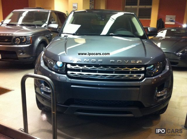 2012 Land Rover  Evoque 2.2 150 CV PRONTA Consegna UFFICIALE Off-road Vehicle/Pickup Truck Demonstration Vehicle photo