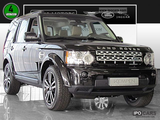 2012 Land Rover Discovery 4 3 0 Sdv6 Hse Navigation Car