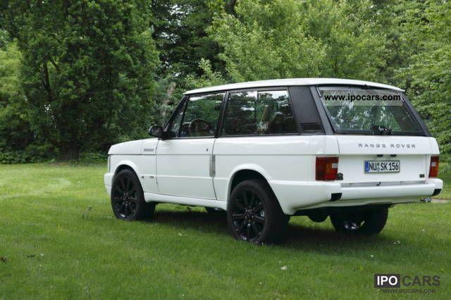 1993 land rover range rover classic 2 door 4 6 v8 euro iii car photo and specs. Black Bedroom Furniture Sets. Home Design Ideas