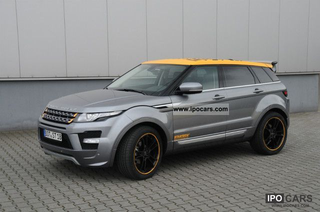 2012 Land Rover  RR Evoque SD4 prestige STARTECH- Off-road Vehicle/Pickup Truck Used vehicle photo