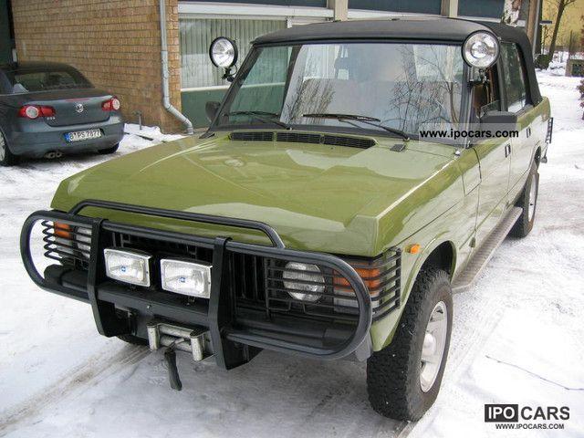 1985 Land Rover  Convertible Landaulet Off-road Vehicle/Pickup Truck Used vehicle photo