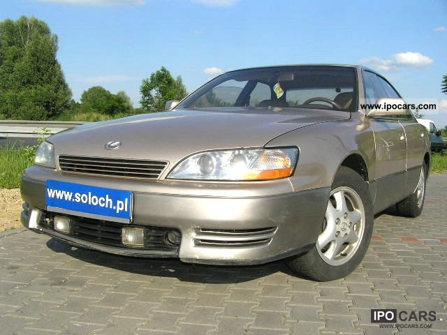Lexus  ES 300 3.0V6 GAZ SEKW. -AUTOMATIC-KLIMATR! 1993 Liquefied Petroleum Gas Cars (LPG, GPL, propane) photo