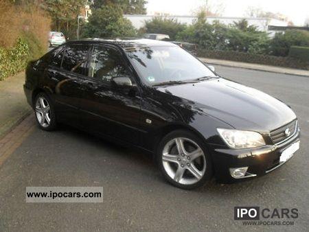 2002 lexus is 200 lpg - car photo and specs