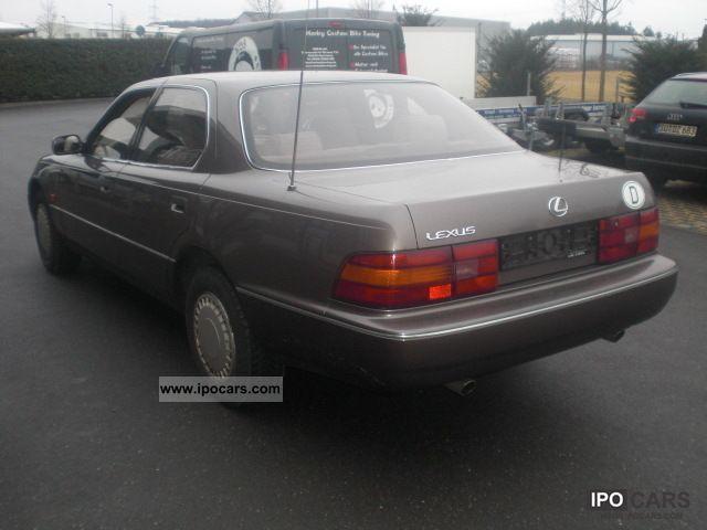 1990 lexus ls 400 147000km collector top condition car. Black Bedroom Furniture Sets. Home Design Ideas