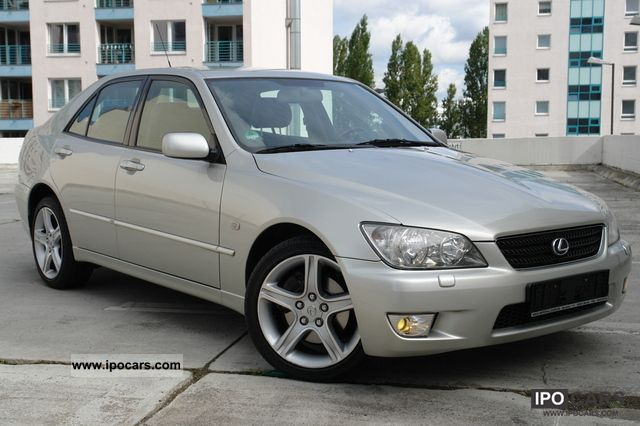 2003 Lexus Is 200 Xenon Leather Shz Klimaautom Checkbook