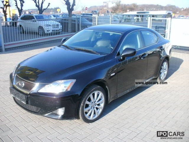 2008 Lexus  IS 220d Limited leather, automatic climate control Limousine Used vehicle photo