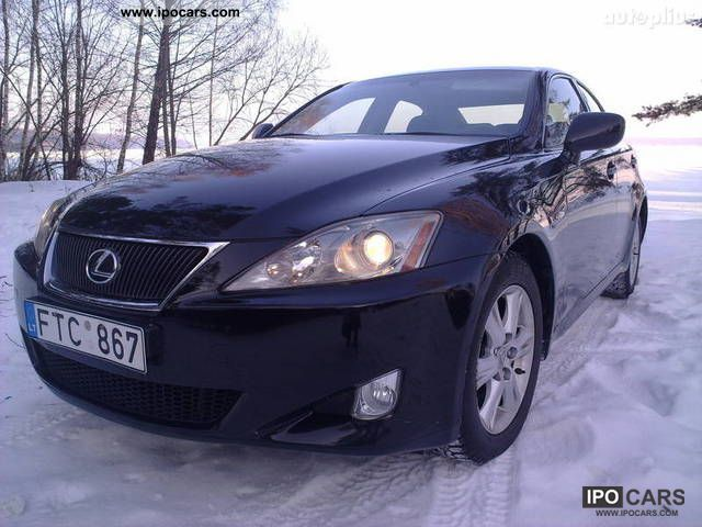 2007 lexus is 220 car photo and specs. Black Bedroom Furniture Sets. Home Design Ideas
