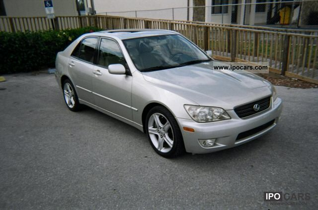2003 lexus is 300 sport car photo and specs. Black Bedroom Furniture Sets. Home Design Ideas