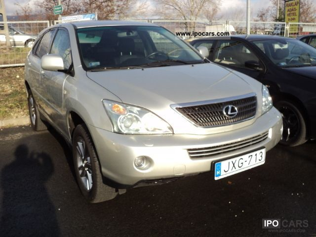 Lexus  RX 400h (hybrid) Executive NAVI, the EU model 2005 Hybrid Cars photo
