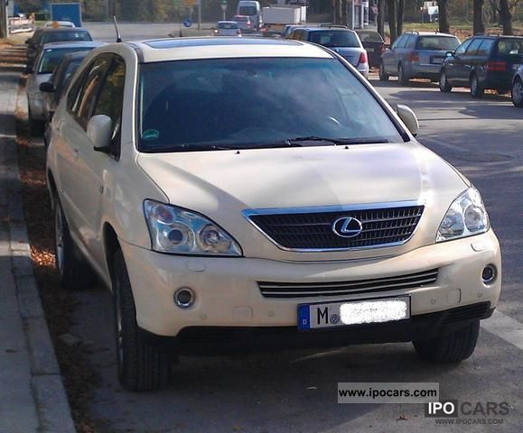Lexus  RX 400h hybrid / LPG - liquefied petroleum gas 2005 Hybrid Cars photo