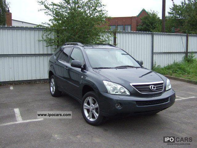 Lexus  RX 400h 1HAND AMBASSADOR Navi Leather 2006 Hybrid Cars photo