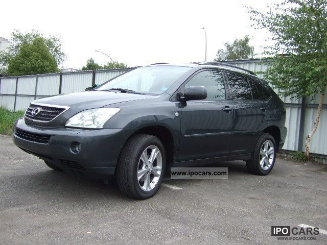 2006 lexus rx 400h 1hand ambassador navi leather car. Black Bedroom Furniture Sets. Home Design Ideas