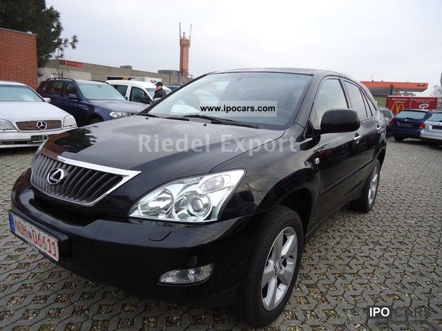 2007 lexus fully equipped rx 350 executive facelift car photo and specs. Black Bedroom Furniture Sets. Home Design Ideas