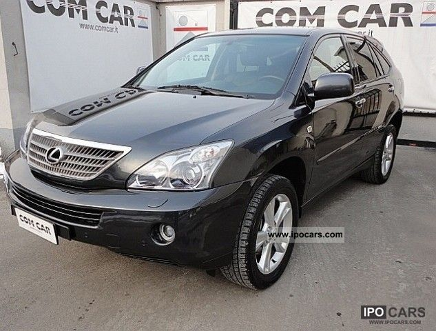 Lexus  RX 400h Executive 2008 Hybrid Cars photo
