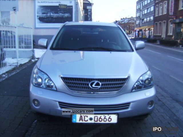 Lexus  RX 400h (hybrid) full executive 2008 Hybrid Cars photo