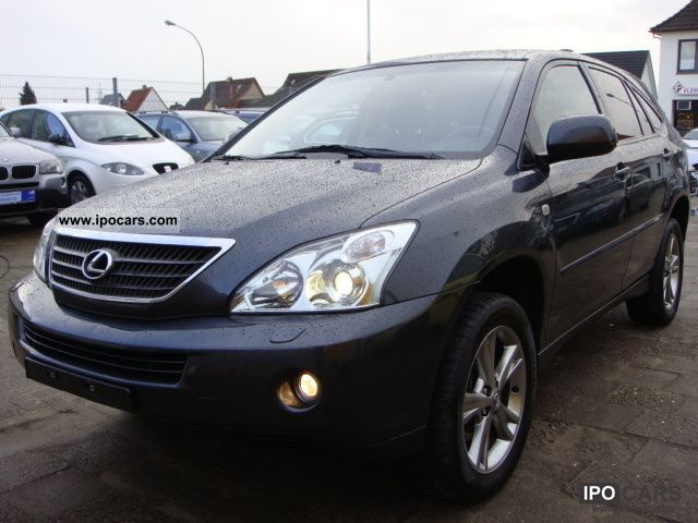 Lexus  RX 400h (hybrid) * Leather * Navigation * Xenon * Climate * TOP * 2007 Hybrid Cars photo