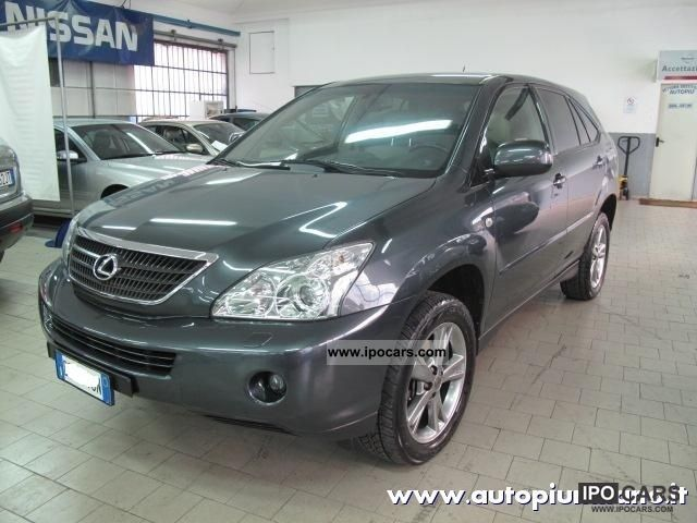 Lexus  Plus RX 400 h 2007 Hybrid Cars photo