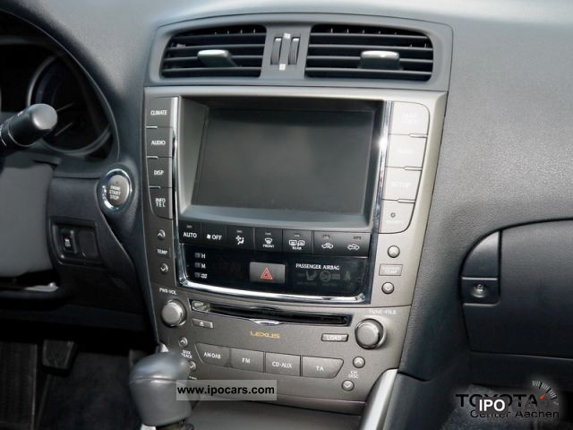 2010 lexus is 220d hdd navigation car photo and specs. Black Bedroom Furniture Sets. Home Design Ideas