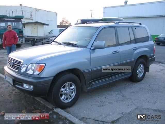 Lexus  LX470 7.4 LAND CRUISER 100 2001 Liquefied Petroleum Gas Cars (LPG, GPL, propane) photo