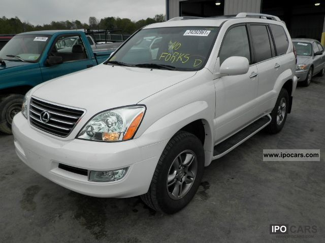 2008 lexus gx 470 car photo and specs. Black Bedroom Furniture Sets. Home Design Ideas