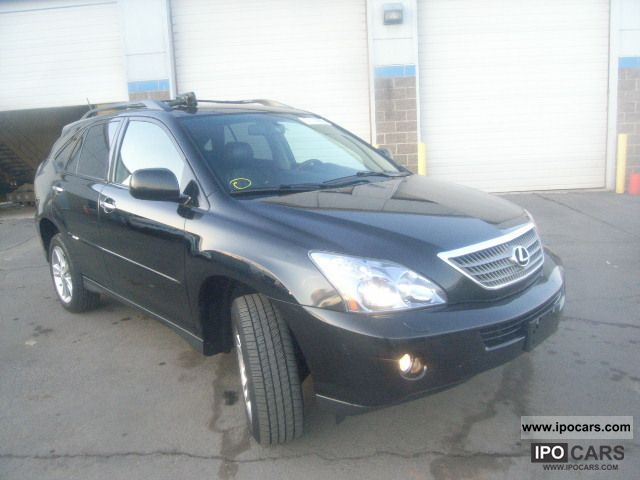 2008 Lexus  RX 400 AWD Off-road Vehicle/Pickup Truck Used vehicle 			(business photo
