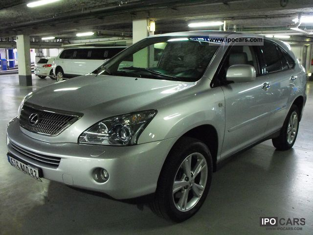 Lexus  RX 400H 3.3 V6 PACK PRESIDENT 2009 Hybrid Cars photo