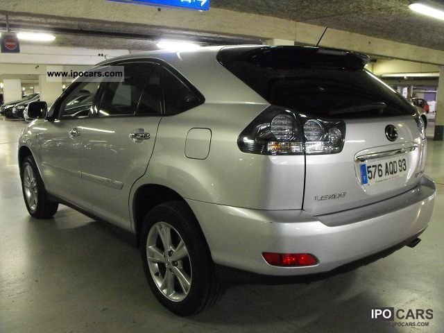 2009 lexus rx 400h 3 3 v6 pack president car photo and specs. Black Bedroom Furniture Sets. Home Design Ideas