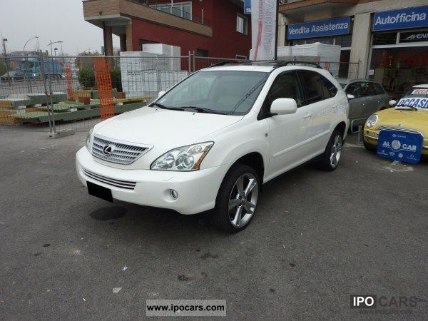 Lexus  RX 400h Ambassador car Mod.America 2005 Electric Cars photo