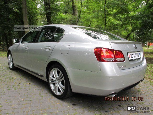 2007 lexus gs prestige 450h hybryda car photo and specs. Black Bedroom Furniture Sets. Home Design Ideas