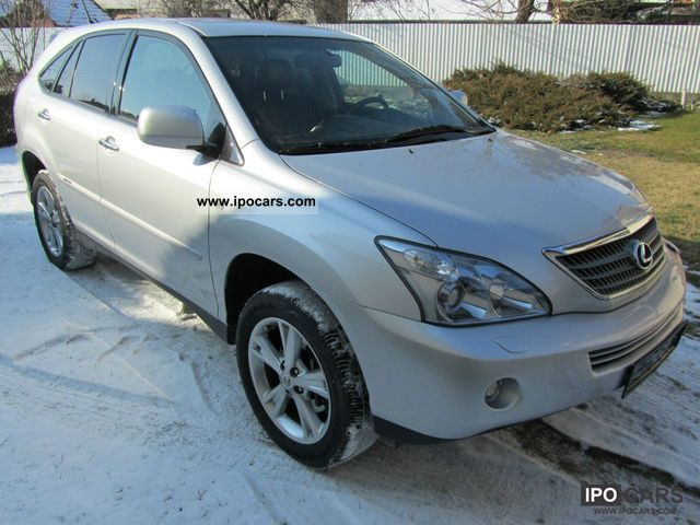 Lexus  RX 400 Hybrid Full Executive Extra 2008 Hybrid Cars photo