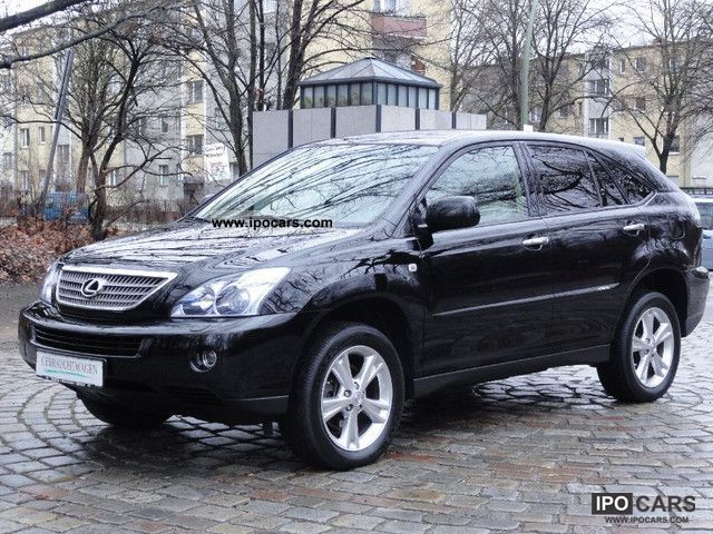 Lexus  RX 400h (hybrid) 23 399 NET LEATHER NAVI CAMERA 2009 Hybrid Cars photo