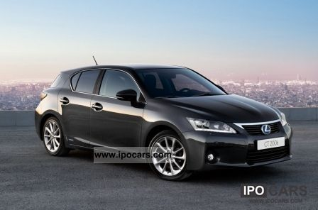 Lexus  CT200h Hybrid Dynamic LED 2008 Hybrid Cars photo