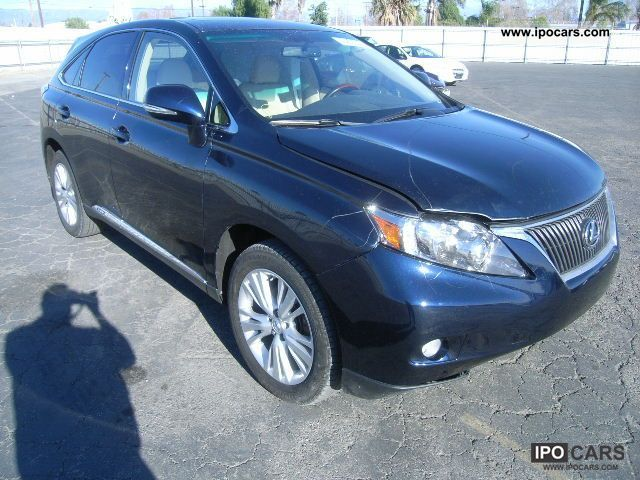 Lexus  RX 450 2010 Hybrid Cars photo