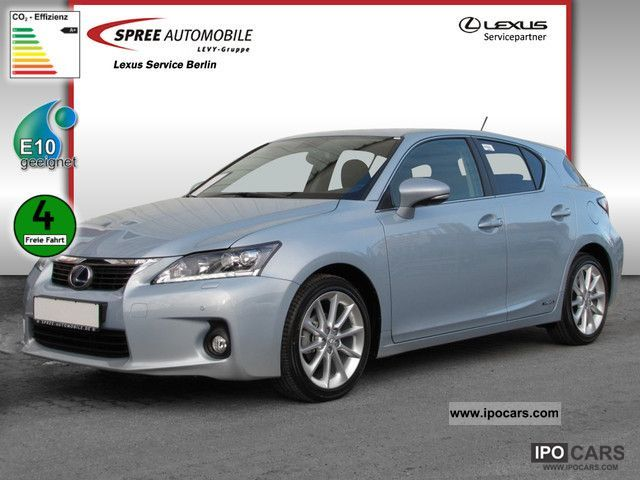 Lexus  CT 200 h * immediately available * Dynamic Line 2012 Hybrid Cars photo