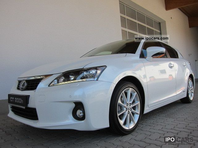 Lexus  CT 200h dynamic line-NAVI CAMERA PDC LED IMMEDIATELY 2012 Hybrid Cars photo