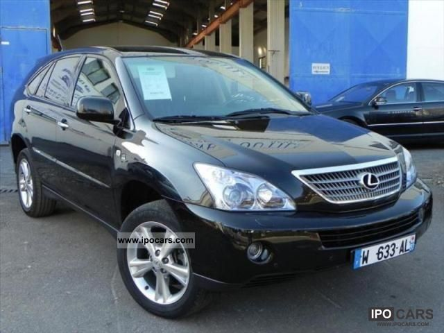 Lexus  400H RX 400 3.3 V6 LUXE PACK 2008 Hybrid Cars photo